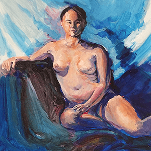 Reclined Asian Nude